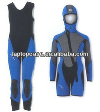 5.0mm neoprene 2 pieces spearfishing suit