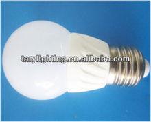 E27/E14 ceramics 3W LED bulb from direct manufacturer