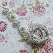 hot sale wholesale rhinestone accessories embellishment bridal lace RAY46