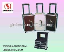 SB1803 Aluminum hairdresser trolley case