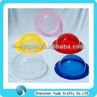 Colored acrylic dome fluor,plexiglass hemisphere,acrylic plastic hemisphere