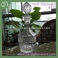 750ml glasflasche spezielle ananas glas mit kork
