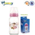 pc 11oz cuello ancho para bebés de soplado botella de jugo
