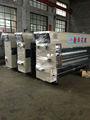 Tinta de água flexo impressão de papelão ondulado entalho máquina/impressora flexo slotter máquina