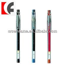 Three Colors Plastic Gel Ink Pen