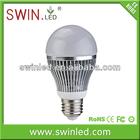 Aluminium LED bulb lighting 12W E27 with CE&RoHs