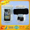 2014 high quality smartphone waterproof bag for mobile phone with armband