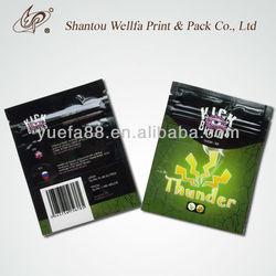 Reusable Smoke Herbal Incense Bag with Ziplock