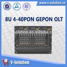 EPON OLT,Optical Line Terminal equipment,Telecom Carrier Class Design 8U Height 40 PONS EPON OLT
