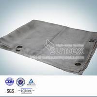 high silica heavy duty heat protection fire blanket