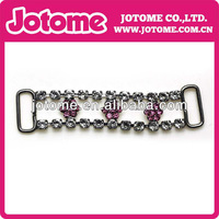 charming woman hot images jewelry rhinestone connector classic cross silver pendant/charm
