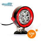 """4"""" 12W CREE LED Chip Super Bright LED Brake Aluminum Bracket Light SM6126"""