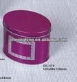 cosméticos caja de la lata