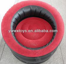 2014 customer flocked inflatable sofa