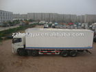 15-20tons cargo van/van cargo truck/box van for dry cargo ,fruit juice and beer