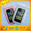 fashional phone bag for iphone/waterproof swimming pouch for phone