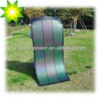 Rollable & Flexible Solar Panel CIGS cell 12.5% PV efficiency