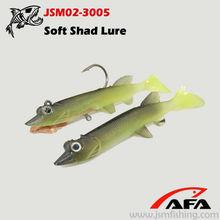 Lifelike Live Pike Jigging Soft Fishing Lure,soft plastic lures,tackle fishing JSM02-3005