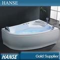 Delantal hs-b201 frente superficie sólida pequeño cuarto de baño bañera de masaje