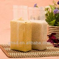 side gusset vaccum bag / vacuum rice packaging bag / vaccum bag