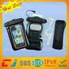 Hot sale mobile phone waterproof pvc bag for iphone 5 used in water