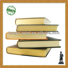 offset paper hardcover book printing/Thick Cheap Hardcover Paper Book Printing In China