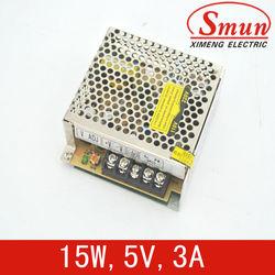 15w 5v single output switching power supply led lighting