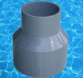 instalación de tuberías de pvc acoplamiento de reducción