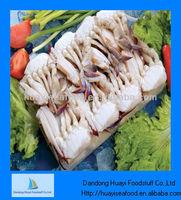 Frozen cut crab seafood