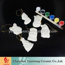 diy bisque de cerâmica de natal decoraÇÃo