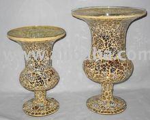 mosaic decoration vase