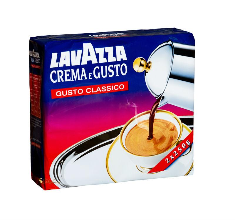 Lavazza Crema e Gusto 0,25 kg ground coffee double pack