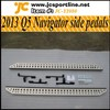2013 Navigator Q5 Running Board Side Steps Step Bar Nerf Car Side Bar for AUDI