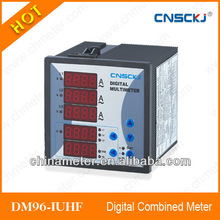 DM96-IUHF Three Phase Digital Voltage, Current , Power And Frequency Combination Meter