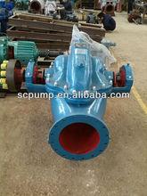 Manufacturer Split case electric motor water pump for liquid medium