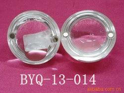 transparent half ball color plastic