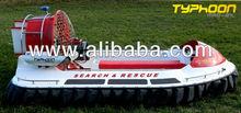 Tifon mad-81 personal l, trabajo y aerodeslizador de rescate para la venta