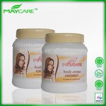 Cuidado de la piel a base de hierbas extracto de humectación manteca de cacao loción corporal