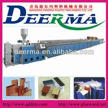 Export PVC profile production line,pvc wpc profile extruder machine