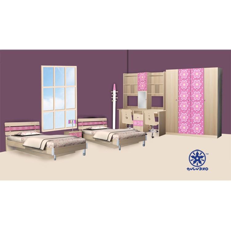2013 ciff modieus ontwerp meisjes kinderen slaapkamer meubilair 1306 serie kinderen meubels sets - Kleur kinderen slaapkamer ...