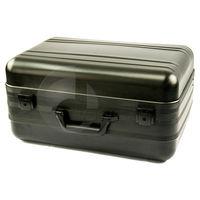 Large Portable Oxidized Silver Aluminum Case