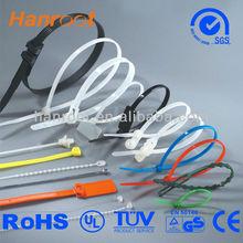 Hanroot self lock pink/natural/black/blue/green/yellow cable ties