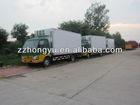 Best Quality new isuzu freezer van sale/cooling box truck