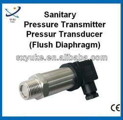 Flush Diaphragm type Smart 4-20mA Pressure Transmitter for hygienic applications