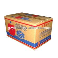 Ecofriendly Corrugated Apple Carton Box
