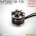 T - motor venda quente brushless motor MT2212 / 750kv, 980KV para DJI F-550