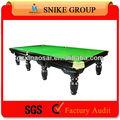 2014 o mais clássico de fábrica de alta qualidade feitas de sinuca bilhar snooker mesa de jogos com melhor venda