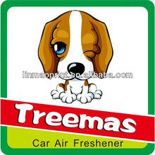 2015 Custom gifts air freshener paper fragrance car/ paper car perfumes