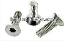 aluminum profiles accessories - countersunk hexagonal socket bolt M6*12