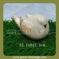 Jardín del arte del amor y la paz de cerámica paloma